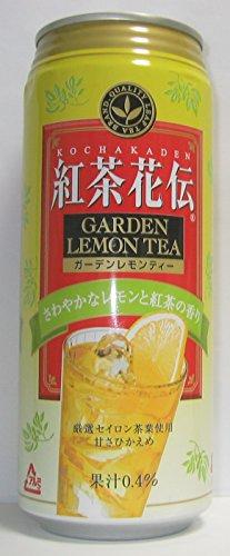沖縄限定品 紅茶花伝 ガーデンレモンティー 500ml×24缶