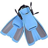 浅い青いアダルトダイビングシューズスキューバダイビングスイミングスノーケリングダイビングスイミングサーフサーフ3サイズオプション