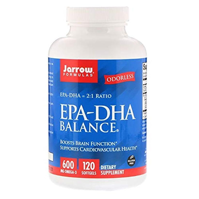 エンゲージメント太鼓腹鍔Jarrow Formulas EPA DHA Balance ソフトジェル 120粒 【アメリカ直送】