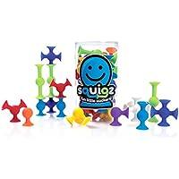 つなげて遊ぶ ブロック 国際おもちゃフェア最優秀賞受賞 お手入れ用タオル付(24ピース)