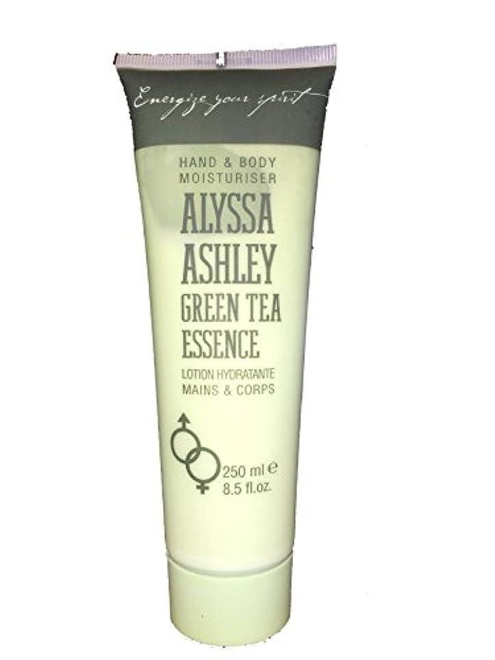 手書き急勾配のジャーナリストAlyssa Ashley Green Tea Essence Hand & Body Lotion(アリサ アシュレイ グリーンティ エッセンス ハンド & ボディローション) 250ml [並行輸入品]