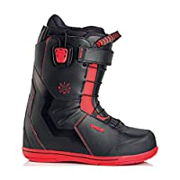 19-20 DEELUXE ディーラックス IDxHC TF アイディー ハードコア サーモインナー スノーボード ブーツ フリースタイル カーヴィング 日本正規品 (24.5cm, BLACK_RED)