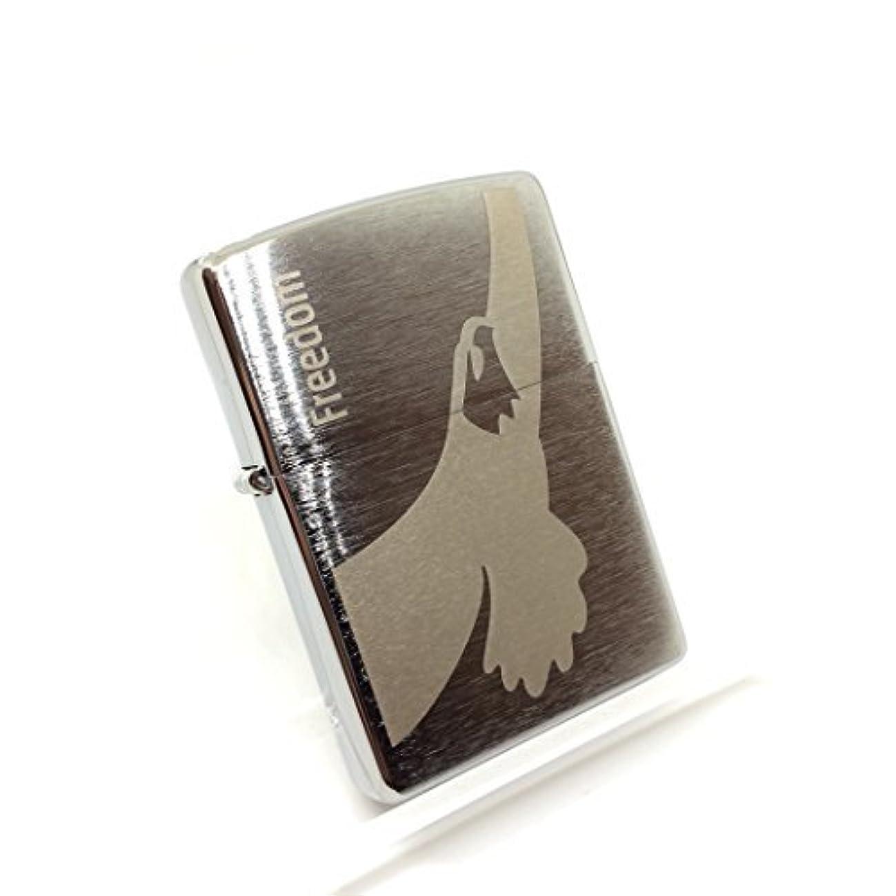 甘いアッティカス気体のZIPPO  ライター ウィンストン Freedom Winston 2016年製 キャンペーン限定品