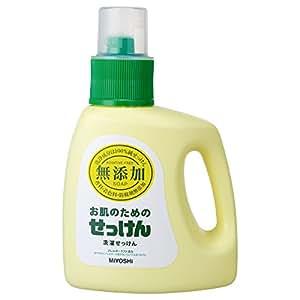 無添加 お肌のための洗濯用 液体せっけん 1.2L