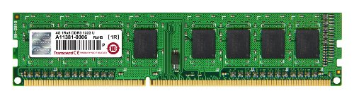 『Transcend デスクトップPC用メモリ PC3-10600 DDR3 1333 4GB 1.5V 240pin DIMM JM1333KLH-4G』のトップ画像