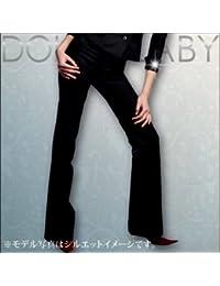 (ドルチェルビ) DOLCE LABY レディース スーツ セミローライズフレアパンツ 単品のみ 生地:7.グレー細ストライプ(M27211/TK)