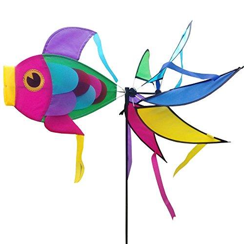 ZooooM 魚 さかな 風車 屋外 キャンプ キッズ 子供...