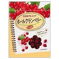 東洋ナッツ食品 トン ホールクランベリー 80g×10袋入×(2ケース)