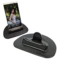 スマホホルダー 車載ホルダー シリコン製 車載ホルダー GPS用クリップホルダー 滑り止め スマートフォン&タブレット用スマホホルダー ダッシュボード・卓上置き簡単・水洗い可能 iPhone Android GPS ナビ対応