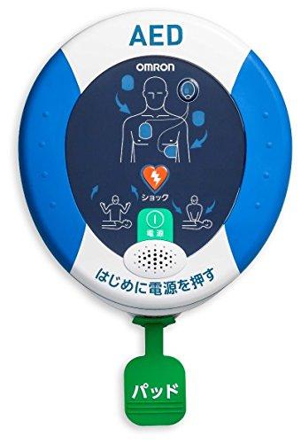 オムロン AED 自動体外式除細動器 レスキューハート HDF-3500