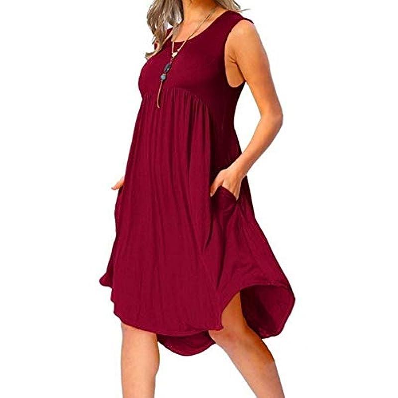 グレーケニア豊かなMIFAN の女性のドレスカジュアルな不規則なドレスルースサマービーチTシャツドレス