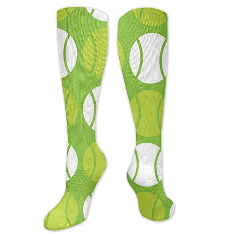 馬鹿げた波紋怠けた靴下,ストッキング,野生のジョーカー,実際,秋の本質,冬必須,サマーウェア&RBXAA Green Tennis Balls Socks Women's Winter Cotton Long Tube Socks Cotton...