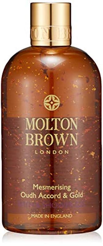 千不注意盟主MOLTON BROWN(モルトンブラウン) ウード?アコード&ゴールド バス&シャワージェル 300ml