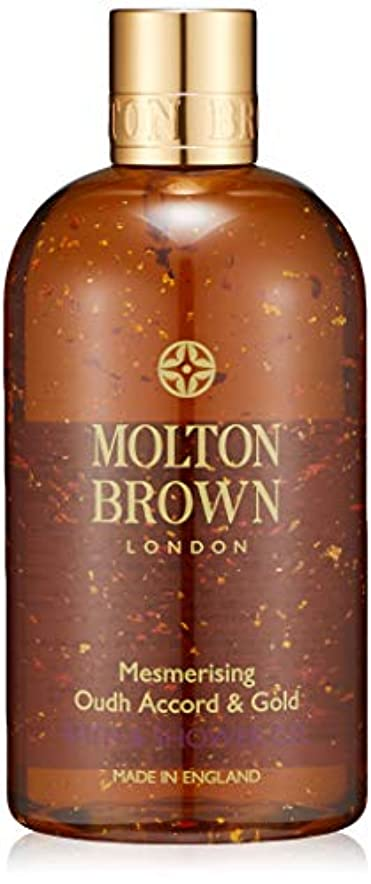 トレイ注入する阻害するMOLTON BROWN(モルトンブラウン) ウード?アコード&ゴールド バス&シャワージェル ボディソープ 300ml