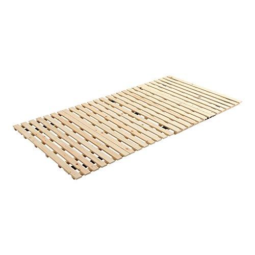 すのこマット すのこベッド 2つ折り式 国産檜 シングル ベッド 折りたたみ 折り畳み すのこベッド 檜 すのこ 二つ折り 木製 湿気