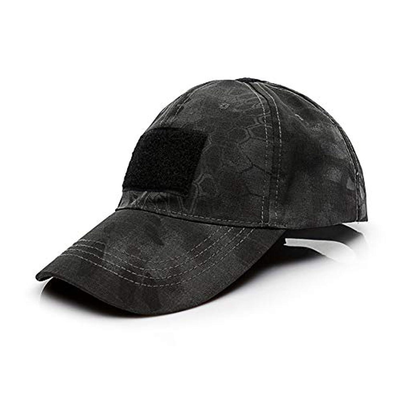 力学武器保持ACHICOO 野球帽 迷彩 キャップ 日焼け止め 紫外線防止 帽子 軍事ファン アウトドア
