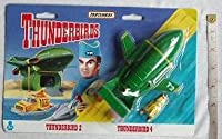 1993 THUNDERBIRDS THUNDERBIRD 2 AND 4 MATCHBOX DIECAST VEHICLES