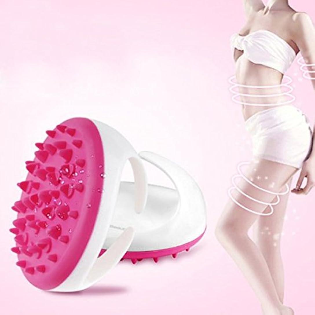ホラー上つぶやきCarejoy マッサージ ブラシ ボディ シェイプ 美形 ダイエットブラシ 血液循環新陳代謝を促進 腹部 臀部 足など用  ピンク グリーン パープル色ランダムに発送