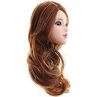 SONONIA 美しい女の子 1/6スケール 頭部彫刻 12インチアクションフィギュア 茶色 カーリーヘア