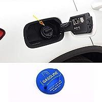 自動車アルミ合金ガソリンタンク保護識別装飾カバーに適していますメルセデスベンツA/B/C/E/S CIA/GLK / GLCクラスW204 W205 W212 W213 W176 W222 X253(青)