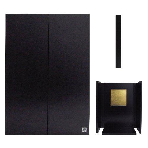 【百人百想】 手元想 : A4画集サイズ 黒 │ 小型仏壇 ミニ仏壇 コンパクト仏壇
