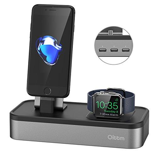 Oittm 多機能充電スタンド Apple Watch/iPhone/iPa...
