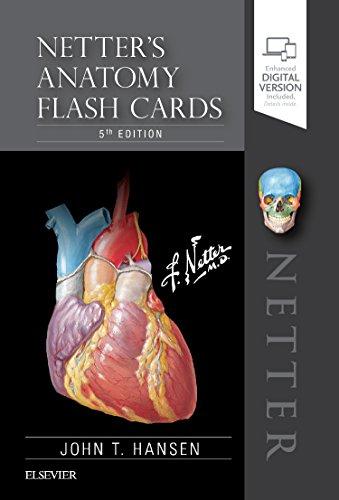 Download Netter's Anatomy Flash Cards, 5e (Netter Basic Science) 0323530508