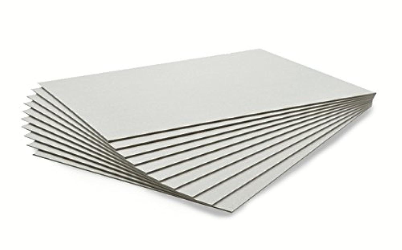 10枚セット カルトナージュ グレー台紙  A4サイズ 21×29.7cm (厚さ1mm)