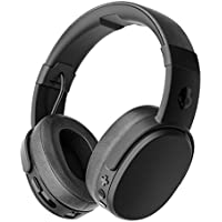 Skullcandy Crusher Wireless ワイヤレスヘッドホン Bluetooth対応 BLACK A6CRW-K591【国内正規品】 オリジナルステッカー付