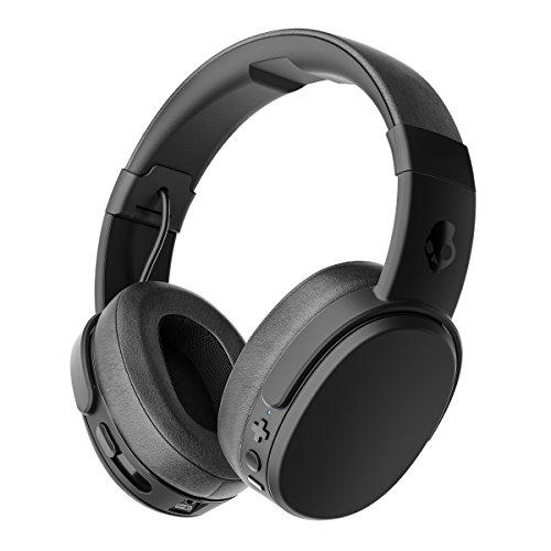 Skullcandy 振動する究極の重低音 ワイヤレスヘッドホン Bluetooth対応 CRUSHER WIRELESS BLACK 【国内正規品】 A6CRW-K591