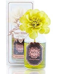 MAYA フラワーディフューザー レモングラススパ 100ml   Aroma Flower Diffuser - Lemongrass Spa 100ml [並行輸入品]