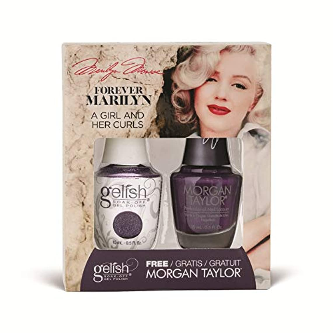 形式勝者冷凍庫Harmony Gelish - Two of a Kind - Forever Marilyn Fall 2019 Collection - A Girl And Her Curls - 15ml / 0.5oz