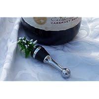 ガラスワインボトルストッパー – クリスマスツリー – 2のセット