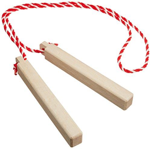 PLAY WOOD プレイウッド 拍子木 小 紐付き HYO-25S