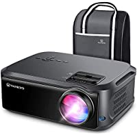 VANKYO V620 1080PフルHDプロジェクター 6000ルーメン LEDプロジェクター 1920×1080ネイティブ解像度 4K対応 ビジネス/ホームシアターに適用 TV Stick/HDMI/X-Box/Laptop/iPhone/ゲーム機に接続可