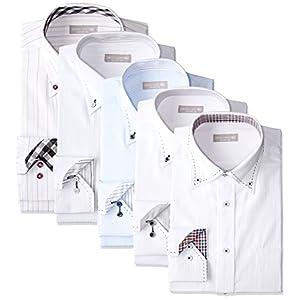(ドレスコード101) DRESSCODE101(ドレスコード101) FUKU 2018 ワイシャツ福袋 5枚セット FUKU-5-2018-M 5枚セットMサイズ M