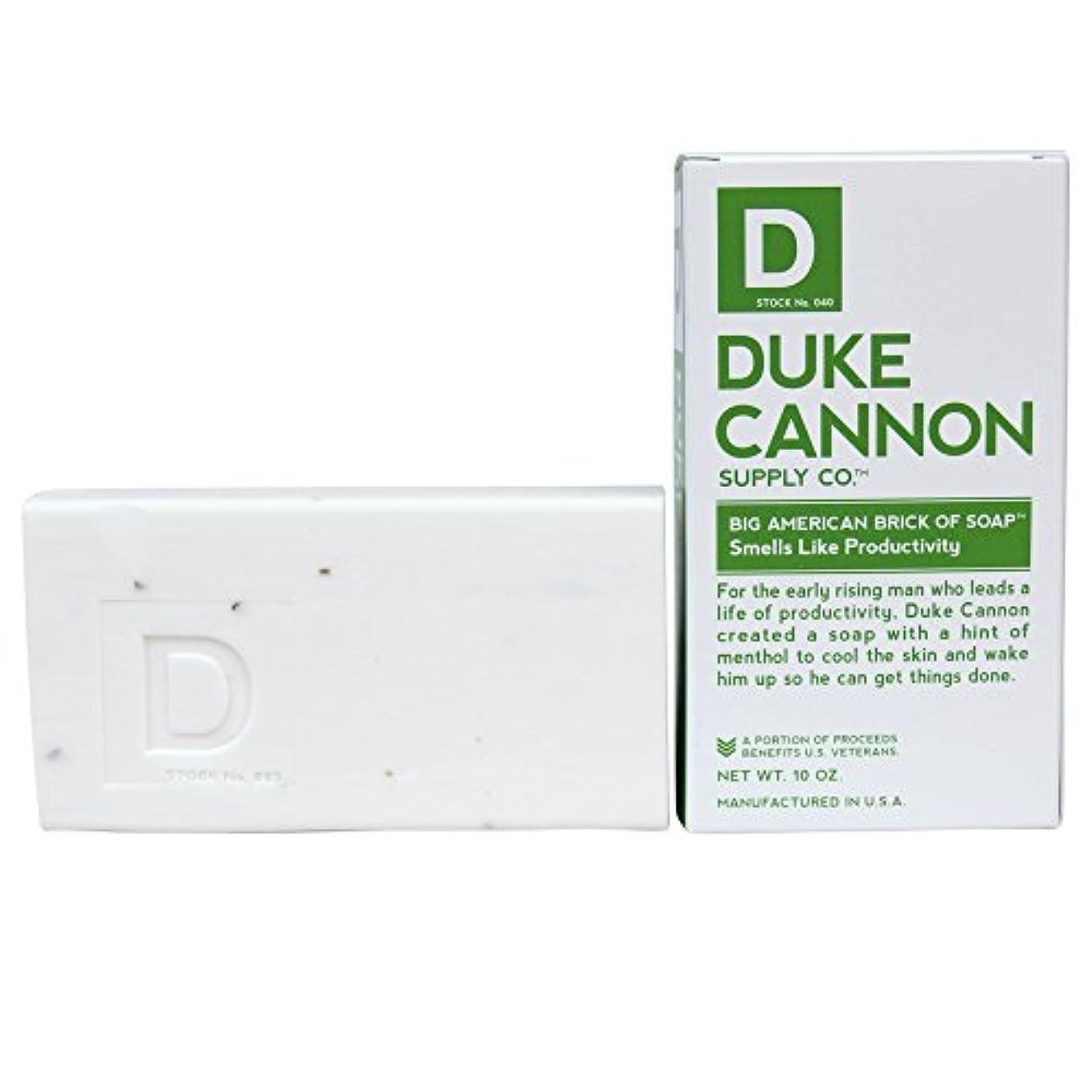衝突する地域確認してくださいDuke Cannon Men's Bar Soap - 10oz. Big American Brick Of Soap - Smells Like Productivity by Duke Cannon