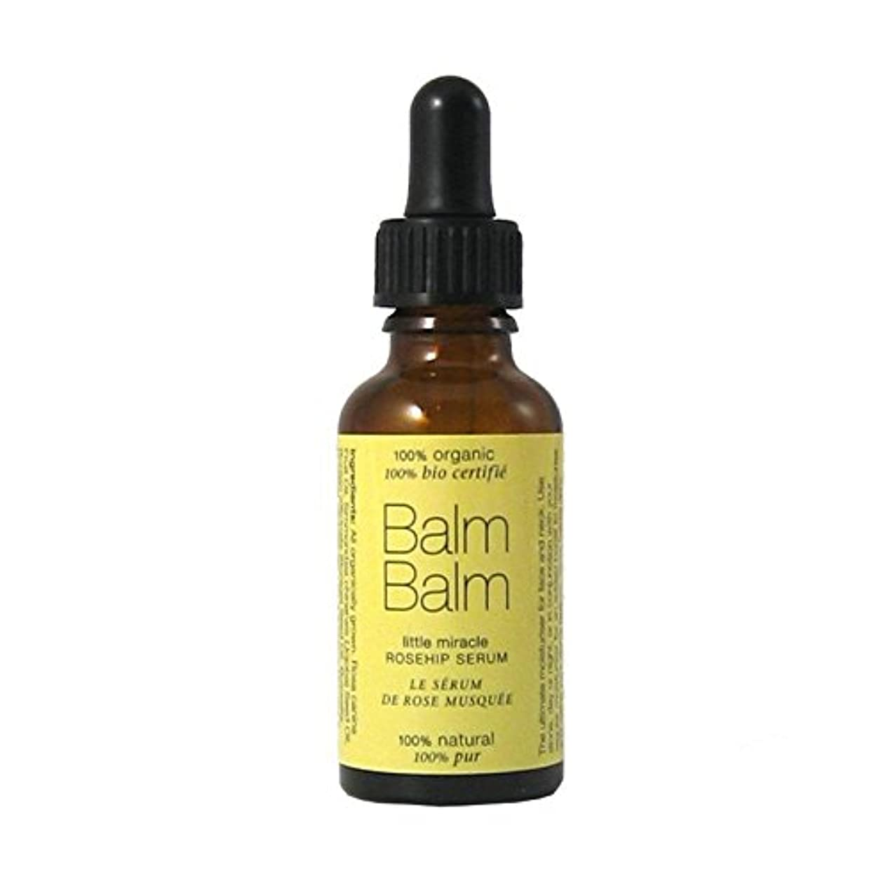 自発今財団Balm Balm Little Miracle Organic Rosehip Serum 30ml (Pack of 6) - バームバーム少し奇跡の有機ローズヒップ血清30ミリリットル x6 [並行輸入品]