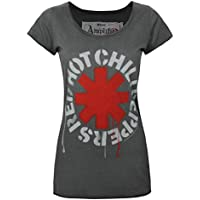 Amplified Red Hot Chili Peppers Logo Women's T-Shirt