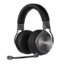 Corsair Virtuoso RGB Wireless Se Gaming Headset - High-Fidelity 7.1 Surround Sound W/Broadcast Quality Microphone - Memory Foam Earcups - 20 Hour Battery Life - Gunmetal