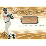 Jose Canseco 2001 SP Game Bat Edition Piece of The Game / ホセ カンセコ