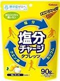 カバヤ 塩分チャージタブレッツ【塩レモン】90g×12袋