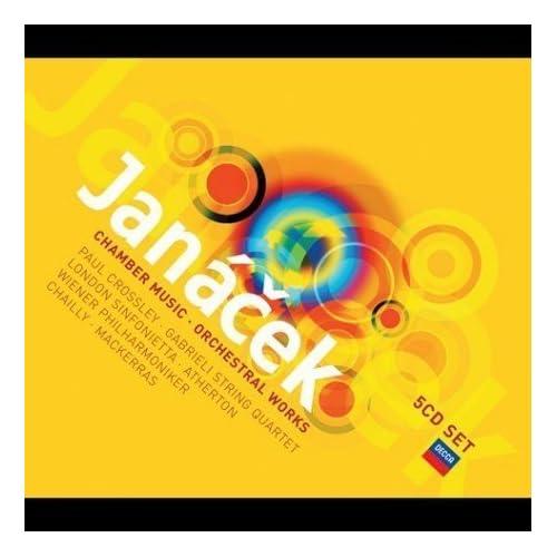 Decca ヤナーチェク 室内楽・管弦楽曲集(5枚組):マッケラス指揮/ウィーン・フィルほかのAmazonの商品頁を開く