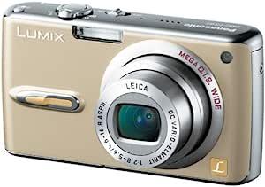 パナソニック デジタルカメラ LUMIX FX07 グロスゴールド DMC-FX07-N