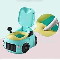 SMEJS 子供トイレトレーニング少年少女のための椅子、ハンドル&スプラッシュガード - 幼児のための快適な座席 (Color : B)