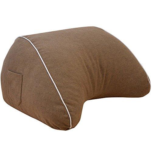 寝ながらスマホ スマホ収納ケースが付いた スマホ枕 約 幅6...
