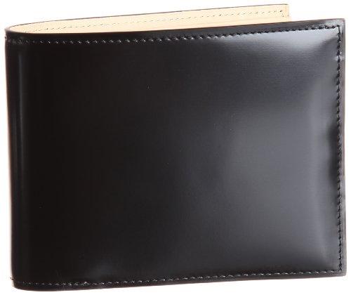 [フライングホース] FLYING HORSE コードバン二つ折り財布  63439 フ゛ラック (フ゛ラック)