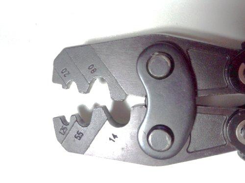 圧着スリーブ用圧着ペンチ 圧着工具 1.25-16mm HS-16 TY23
