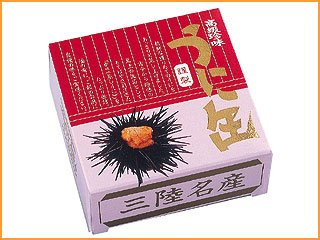 岩手県産 うに缶(蒸しウニ) ムラサキウニ 90g  【宏八屋】