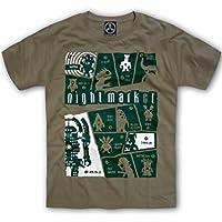 (ドラゴンスリーライン) NightMarket キャラシャツ Movie モンスター 半袖 Tシャツ